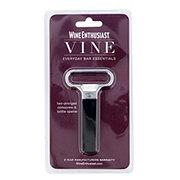 Wine Enthusiast Vine Two-Pronged Corkscrew & Bottle Opener