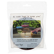 Wine Tapa Glass Cover Merlot