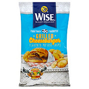 Wise Food Truck Favorites Grilled Cheeseburger Flavor Potato Chips