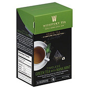 Wissotzky Tea Timeless Green Tea With Nana Mint