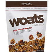 Woats Nuts About Berries Oat Snack