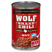 Wolf Hot Chili No Beans