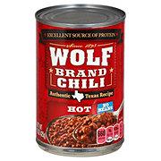 Wolf Hot No Beans Chili