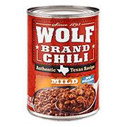 Wolf Mild No Beans Chili