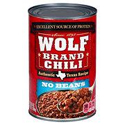 Wolf No Beans Plain Chili