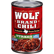 Wolf Turkey Chili No Beans