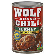 Wolf Turkey With Beans Chili