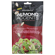 Wonderful Almond Accents Honey Roasted with Cranberries