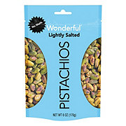 Wonderful Pistachios, No Shells, Roasted and Lightly Salted