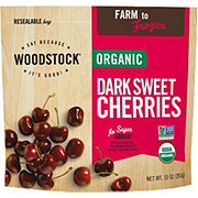 Woodstock Organic Dark Sweet Cherries