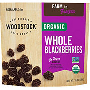 Woodstock Organic Frozen Fruit Blackberries