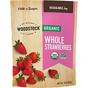 Woodstock Organic Frozen Whole Strawberries
