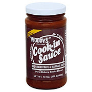 Woody's Cook-in' Sauce Pure Hickory Smoke Flavored Barbecue Concentrate & Marinade Sauce