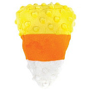 Woof and Whiskers Candy Corn Plush Dog Toy