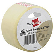 WorkSolutions Clear Packaging Tape 1.89 inx55 yd