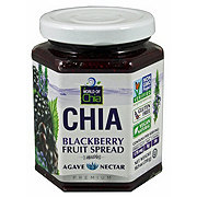World Of Chia Blackberry Agave Chia Spread
