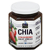 World Of Chia Strawberry Agave Chia Spread