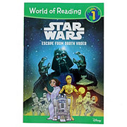 World of Reading Star Wars Escape From Darth Vader Level 1 Reading Book