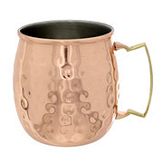 Worldinox Hammered Copper Moscow Mule Mug