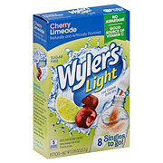 Wyler's Light Singles to Go! Cherry Limeade Drink Mix