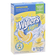 Wyler's Light Singles to Go! Lemonade Drink Mix