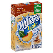 Wyler's Light Singles to Go! Peach Iced Tea Drink Mix