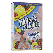 Wyler's Light Singles to Go! Raspberry Lemonade Drink Mix