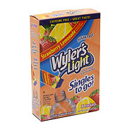 Wyler's Light Singles to Go! Strawberry Lemonade Drink Mix