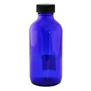Wyndmere Naturals Glass Bottle Cobalt, Blue