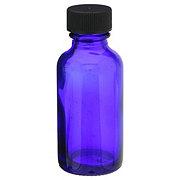 Wyndmere Naturals Glass Bottle W/cap Cobalt Blue