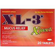 XL-3 Xpect Mucus Relief