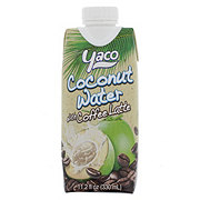 Yaco Coconut Water with Coffee Latte