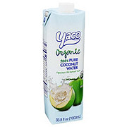 Yaco Organic 100% Pure Coconut Water