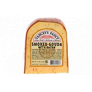 Yancey's Fancy Smoked Gouda Cheese with Bacon