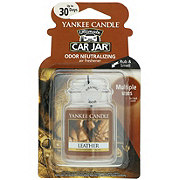 Yankee Candle Car Jar Leather