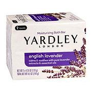 Yardley London English Lavender Moisturizing Bath Bar 2 ct