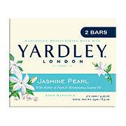 Yardley London Jasmine Pearl Naturally Moisturizing Bath Bar