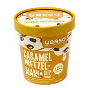 Yasso Caramel Pretzel Mania Frozen Greek Yogurt