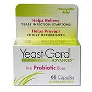 Yeast Gard Advanced Homeopathic Capsules