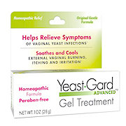 Yeast Gard Advanced Homeopathic Gel Treatment