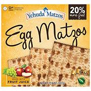 Yehuda Egg Matzos