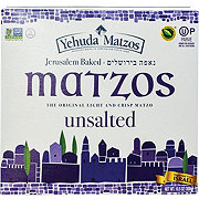 Yehuda Matzos Jerusalem Baked Unsalted Matzo Thins