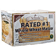 Yehuda Whole Wheat Matzo