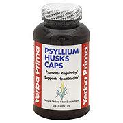 Yerba Prima Psyllium Husks Caps 625 mg Capsules