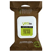 Yes to Natural Man Shower To Go Cleansing Cloths