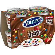 YoCrunch Low-Fat M&M's Strawberry Blended Yogurt