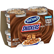 YoCrunch Low-Fat Vanilla with Snickers Pieces Yogurt