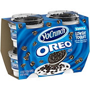 YoCrunch Lowfat Cookies N' Cream Yogurt