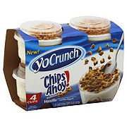 YoCrunch Lowfat Vanilla Yogurt with Chips Ahoy!