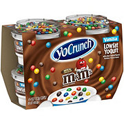 YoCrunch Lowfat Vanilla Yogurt With Milk Chocolate M&M's